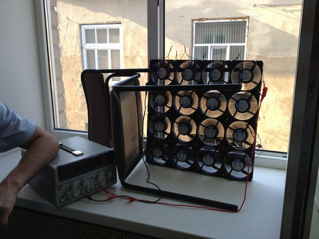 Как сделать из компьютера вентилятор