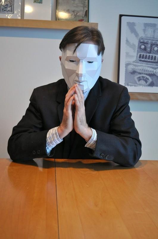 Как сделать маску анонимус 945