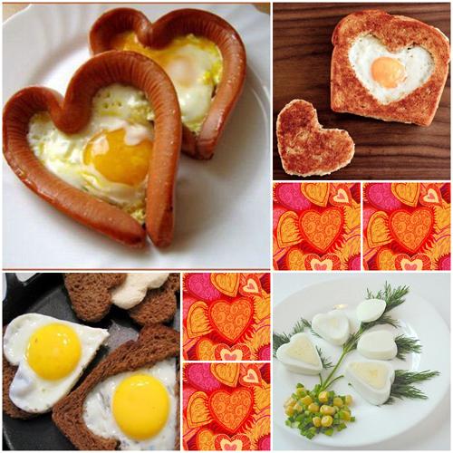 Простой завтрак может стать признанием в любви