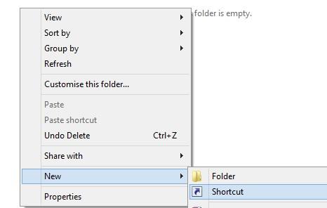 Create-Shortcut