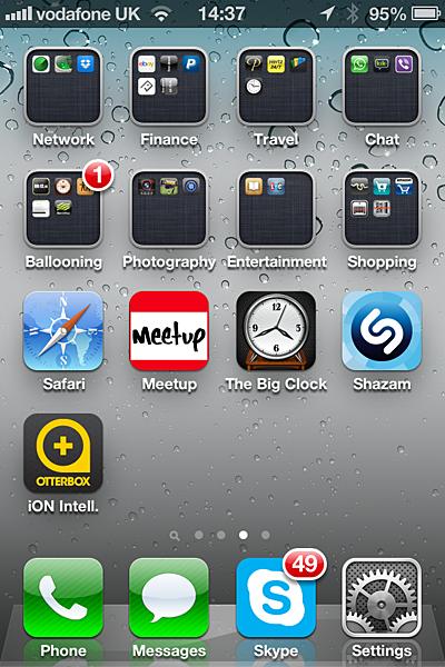 сортировка фото по папкам в iphone