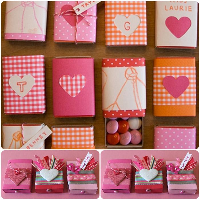 Как сделать из спичечного коробка подарок 37