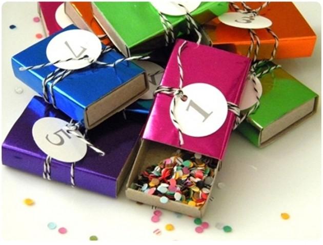 Коробочки для конфети