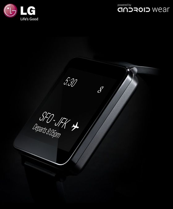 Android Wear LG G watch