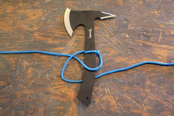 Сделать ручку для ножа из веревки