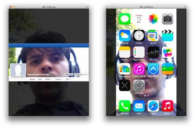 Как размыть задний фон на в айфоне