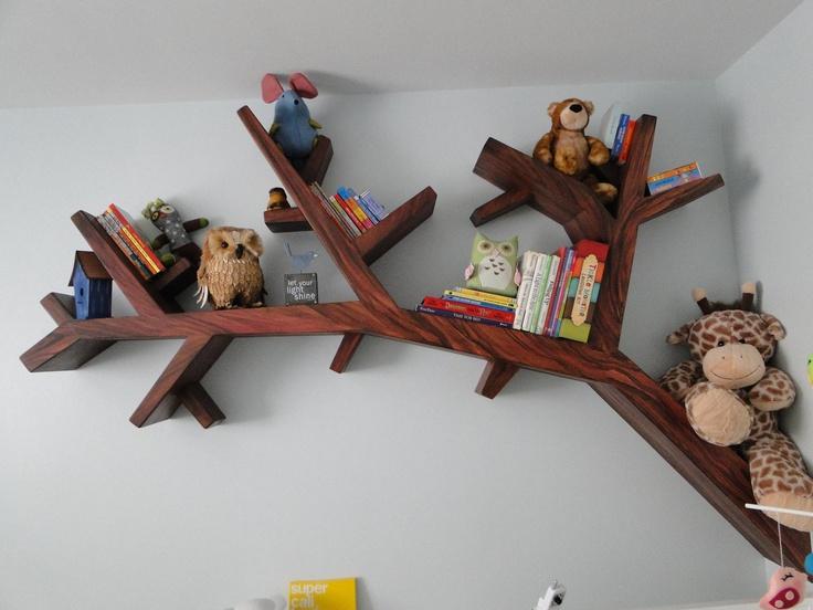 Стеллаж для книг из дерева своими руками