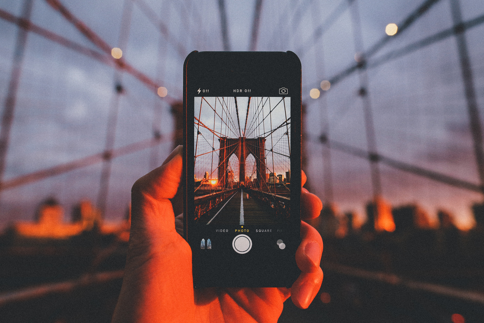 Как сделать размытый фон на айфон 6
