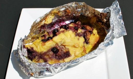 Пирог в фольге