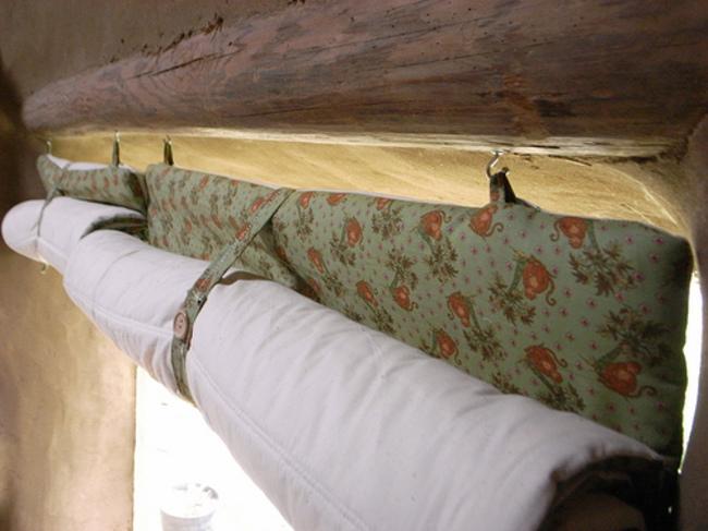 Утепляющие шторы своими руками