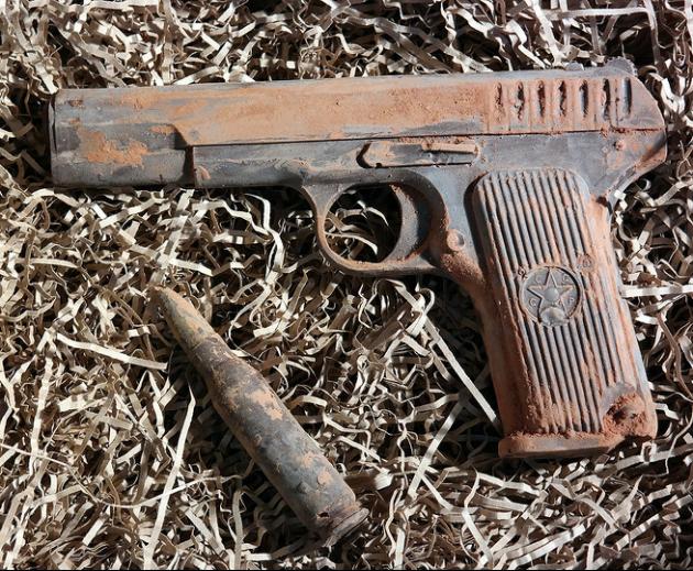 Шоколадное оружие