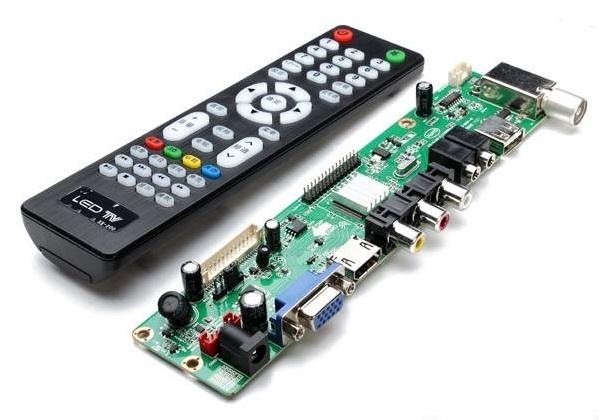 Искомая китайская железка для аккуратного превращения монитора в телевизор. Фото: 4tactics.com