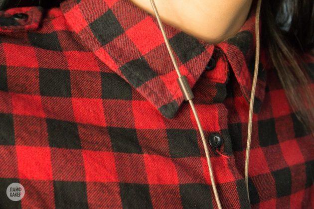 Арматурные наушники Creative Aurvana In-Ear3 Plus: микрофон и пульт управления разделены