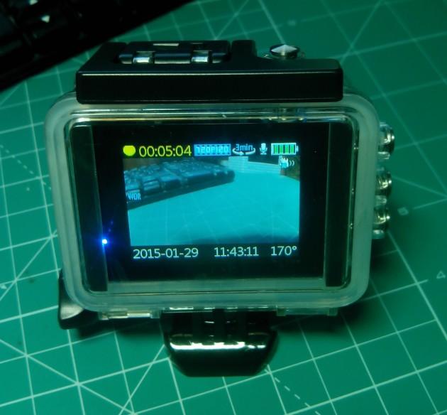 SJCAM SJ5000X Elite: элементы управления