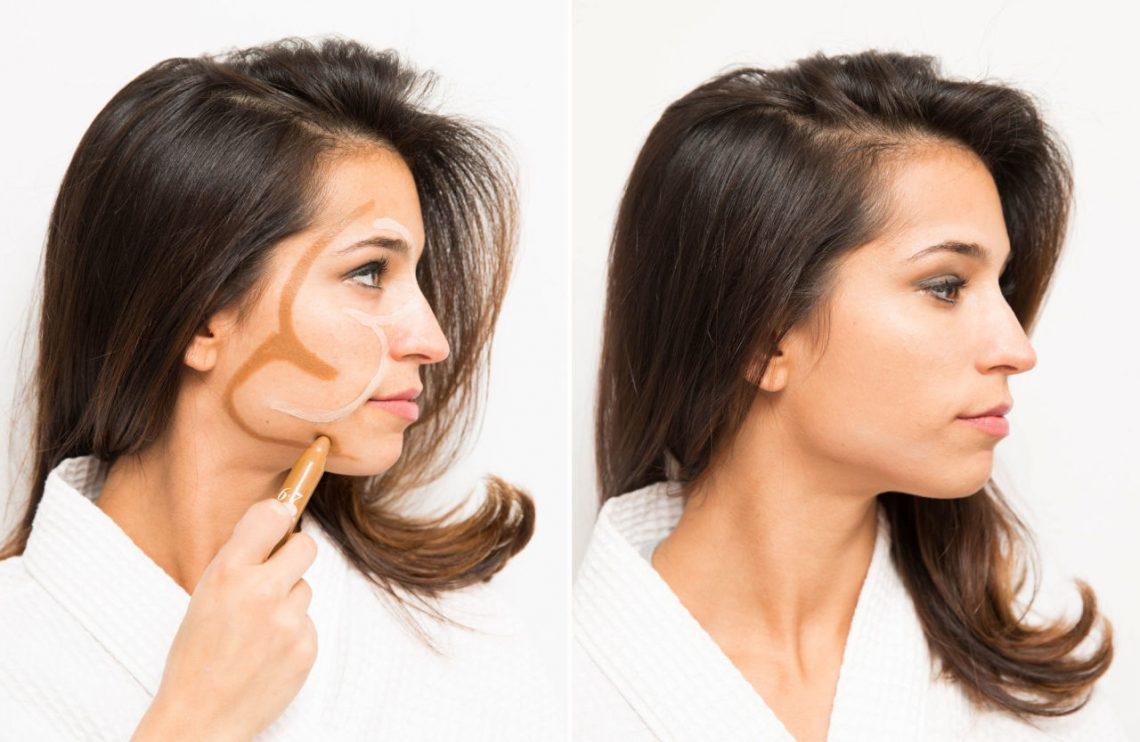 Как сделать так чтобы нос не блестел