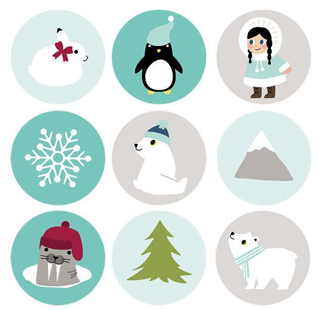 как упаковать подарок — полярные бирки для подарков