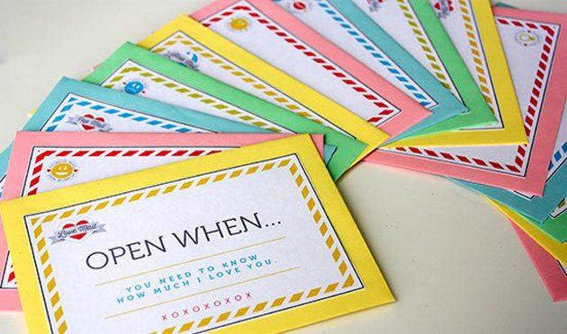 Подарки на День святого Валентина: оригинальные конверты