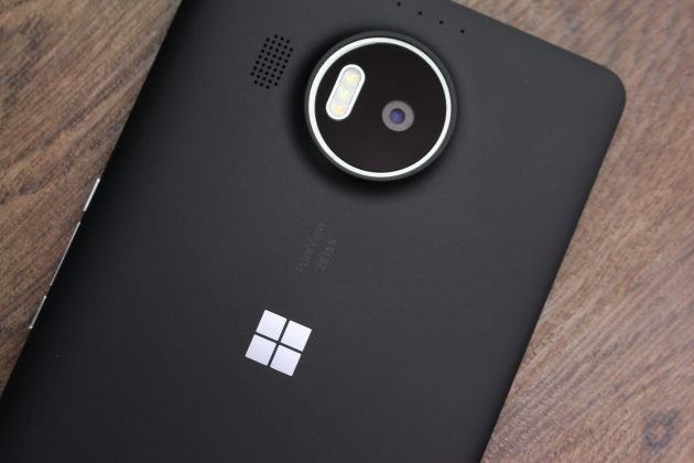 Lumia 950 XL: задняя панель