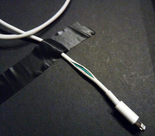 Как починить кабель iPhone
