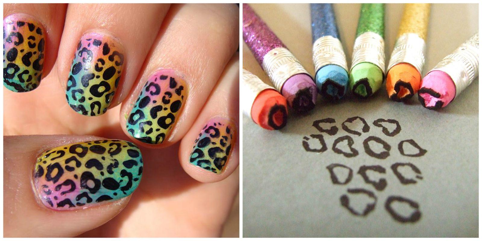 Рисуем на ногтях сами