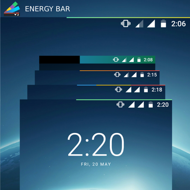 Energy Bar demo