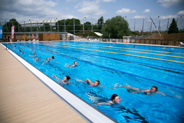 Тренировка Urban Tri по плаванию