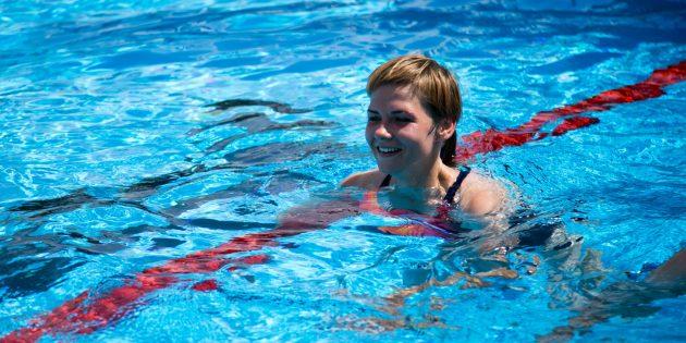 Плавание — часть комплексной тренировки Urban Tri