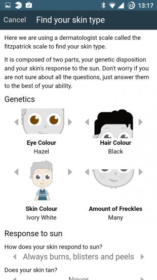 UVLens skin