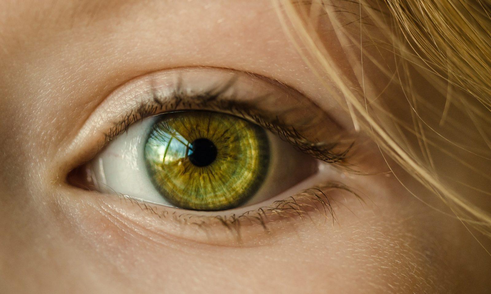 Как сделать желтые глаза вшопе