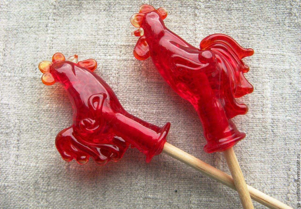Как сделать конфет петушок 515