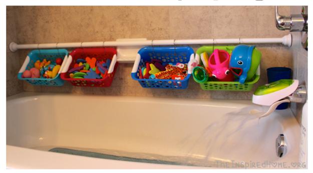 Органайзер для ванных принадлежностей
