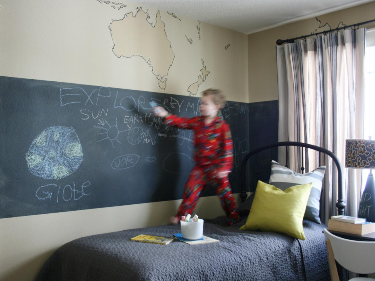 Покраска комнаты своими руками фото