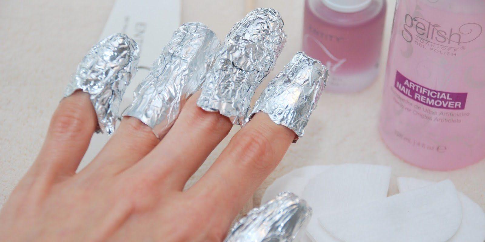 Как дома удалить гель лак с ногтей