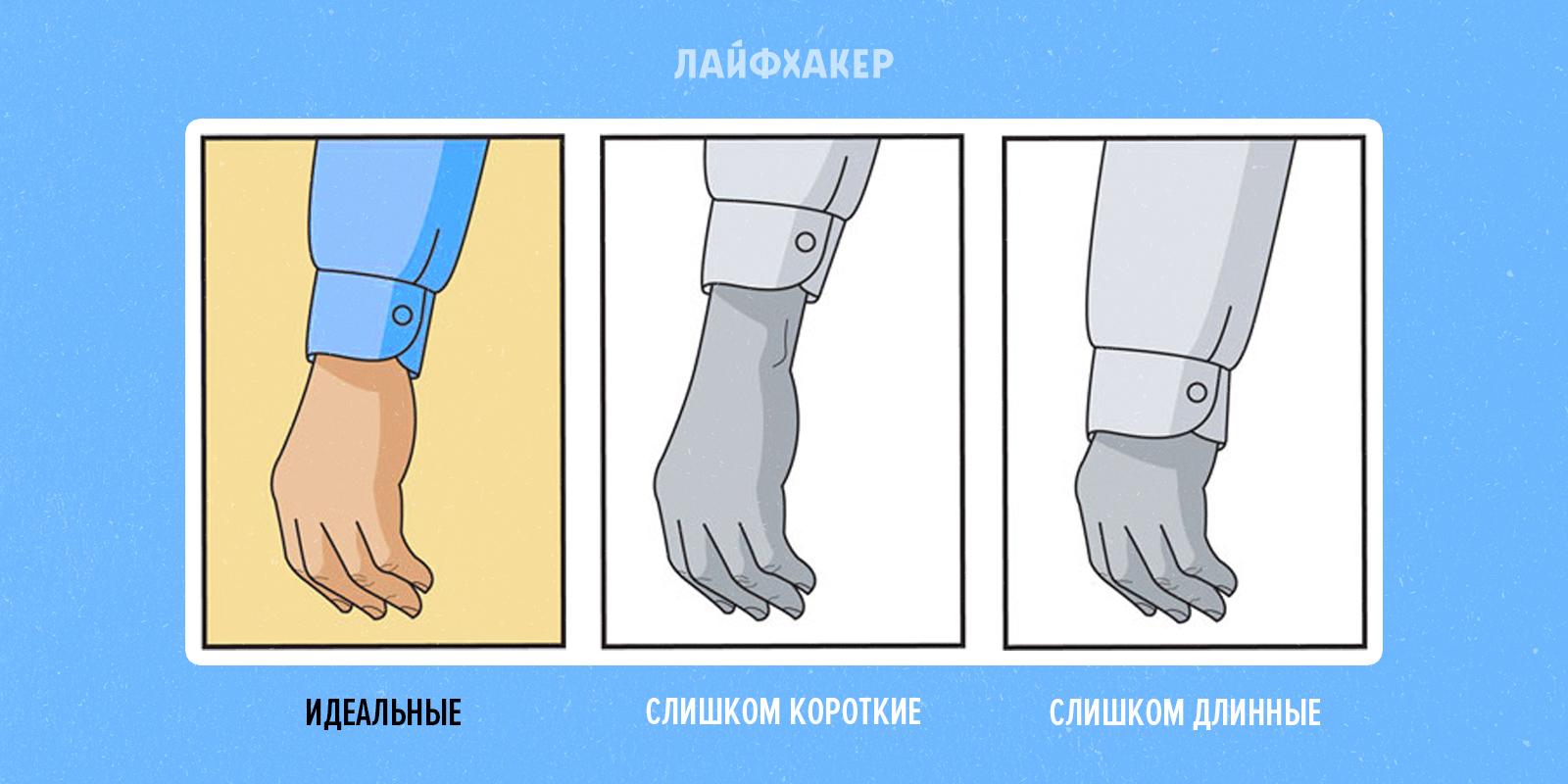 Как длинный рукав сделать коротким