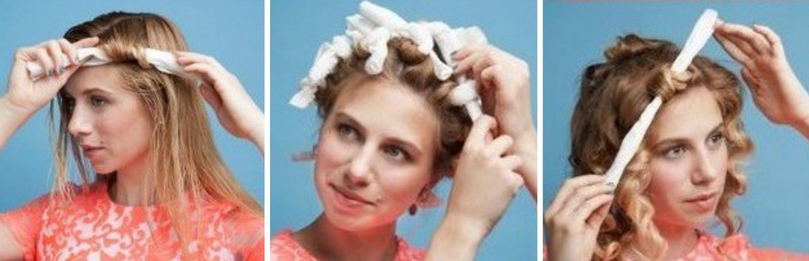 Как сделать кудри на длинные волосы в домашних условиях без плойки