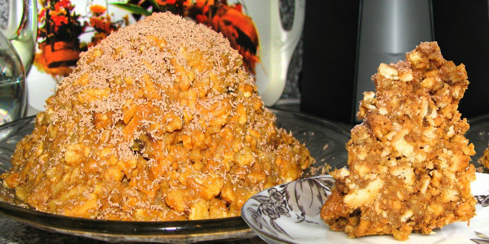 Как приготовить торт муравейник в домашних условиях рецепт