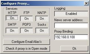 AnalogX Proxy Server - простой способ раздать интернет