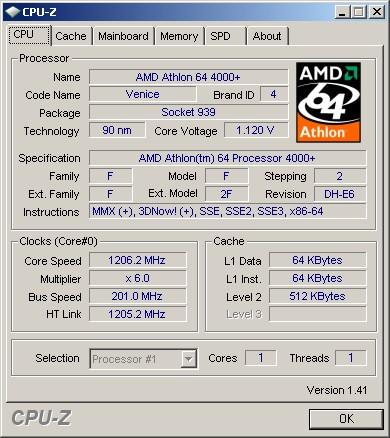CPU-Z - узнай все о своем процессоре