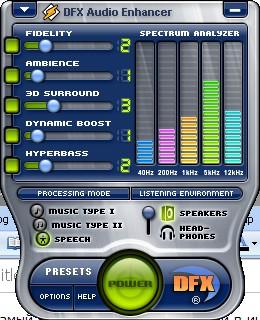 DFX Audio Enhancer 8