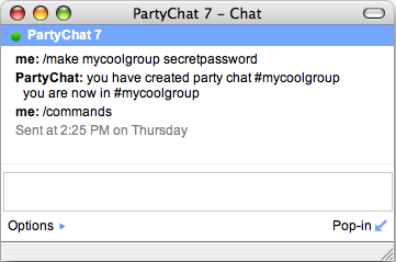 partychat