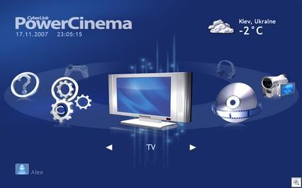 CyberLink PowerCinema 5 - замечательный медиацентр