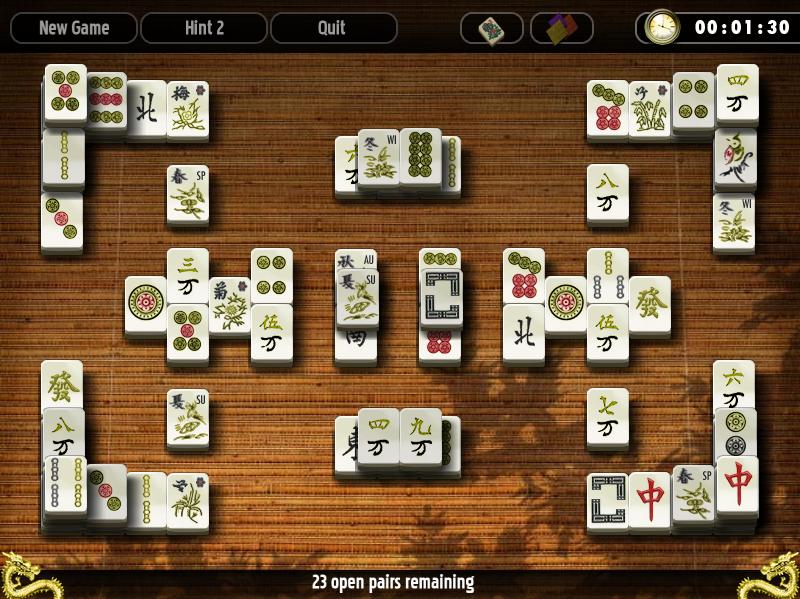 Mahjong Solitarus: играем в маджонг на Mac