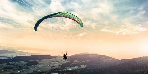 сделать перед смертью: парашют
