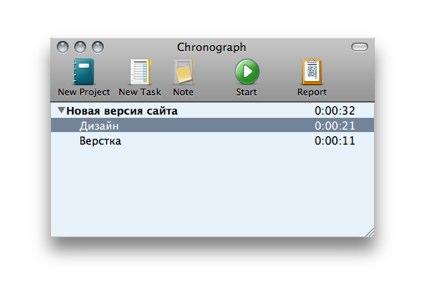 Chronograph расскажет о времени, потраченном на задачу