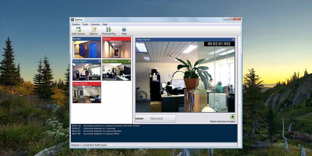 Программы для видеонаблюдения: EyeLine Video Surveillance