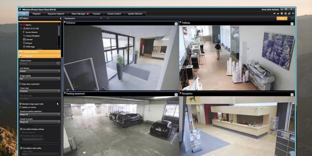 Программы для видеонаблюдения: XProtect Essential+