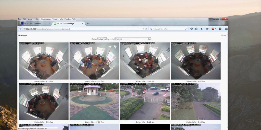 Программы для видеонаблюдения: Zoneminder