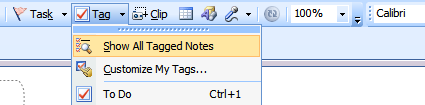 Tagged notes