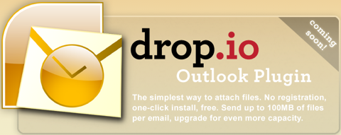 drop.io Outlook Plugin.png