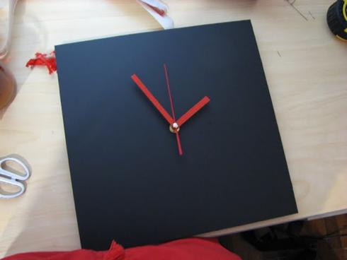 Красивые настенные часы своими руками фото